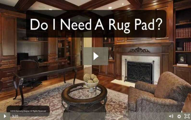 RugVideos Do I Need A Rug Pad
