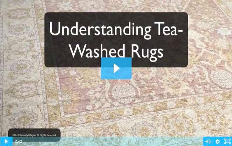 RugVideos Tea-Washed Rugs